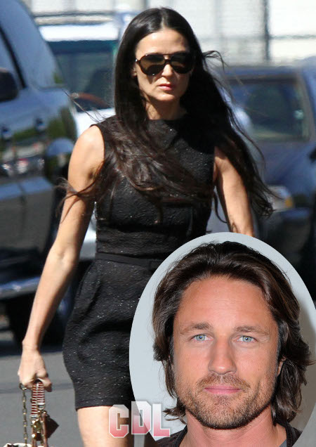 Is Martin Henderson Now Demi Moore's Beard?