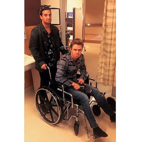 Derek Hough Injured: Rushed To Hospital, Long Night In ER - Return To Dancing With The Stars Doubtful?