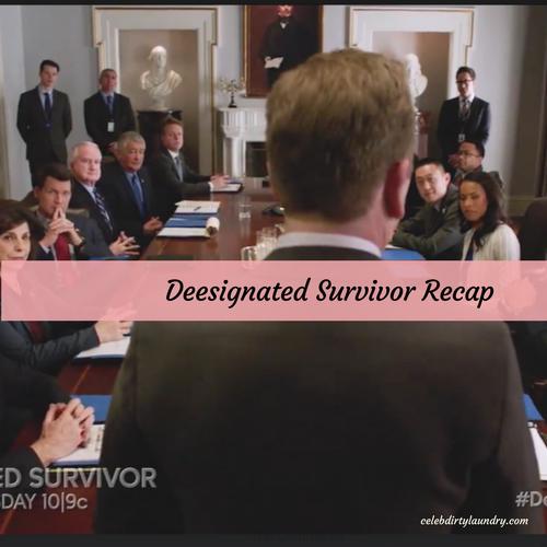 "Designated Survivor Recap 4/19/17: Season 1 Episode 17 ""The Ninth Seat"""