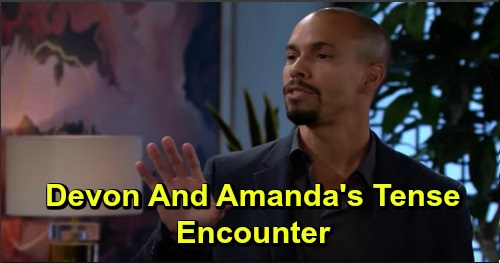 The Young and the Restless Spoilers: Monday, September 23 Review - Victor Learns His Plan's Gone Awry - Devon's Tense Run-In With Amanda