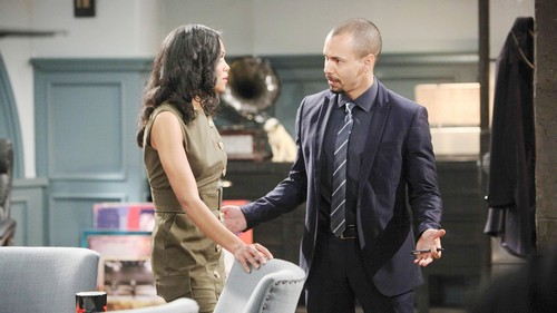 The Young and the Restless Spoilers: Wednesday, March 21 – J.T. Clutches Victoria's Throat – Lily and Cane's Sneaky Pact