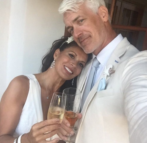 Dina Eastwood Marries Scott Fisher After Clint Eastwood Real Life Celebrity Wife Swap