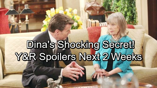 The Young and the Restless Spoilers for Next 2 Weeks: Jack Faces Disaster – Dina's Shocking Secret – Jill Stirs Up Trouble
