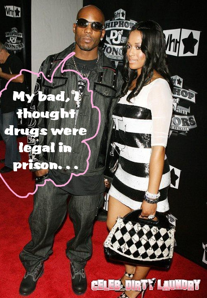 DMX Failed Drug Test . . . WHILE In Prison
