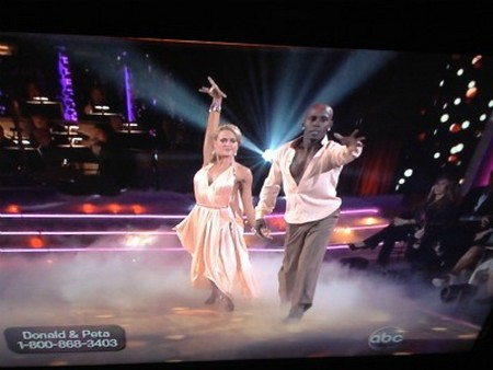 Donald Driver Dancing With The Stars Argentine Tango Performance Video 4/16/12