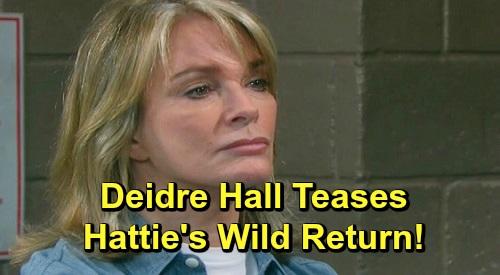 Days of Our Lives Spoilers: Deidre Hall Teases Hattie's Wild Return, 'Jarlena' Drama and More – DOOL Star Promises Big Shakeups