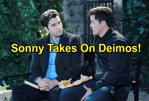 Days of Our Lives Spoilers: Sonny Tries To Take Titan Role From Deimos – Enraged by Threat, Deimos Plots Sonny's Doom