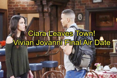 Days of Our Lives Spoilers: Theo and Wyatt's Scheme Explodes, Furious Ciara Leaves Town – Vivian Jovanni's Last Airdate
