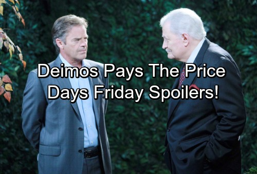 Days of Our Lives Spoilers: Jade's Sneaky Plan – Sonny's Dangerous Obsession – Deimos Deals with His Downfall