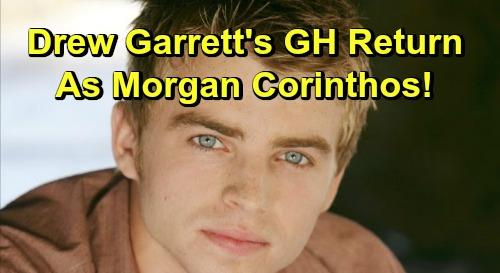 General Hospital Spoilers: Drew Garrett's GH Return as Morgan Corinthos - Perfect Replacement For Bryan Craig?