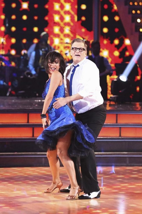 Drew Carey and Cheryl Burke Romance - Dancing With the Stars Behind The Scenes