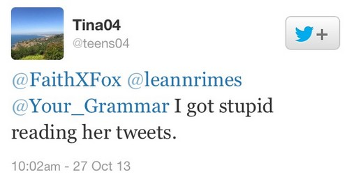 LeAnn Rimes Drinking and Tweeting Again