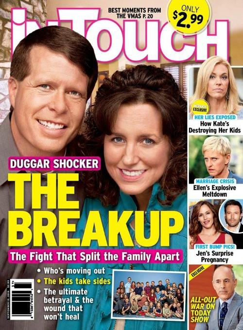 Jim Bob and Michelle Duggar Divorce: Couple Split Over Josh Duggar - Report