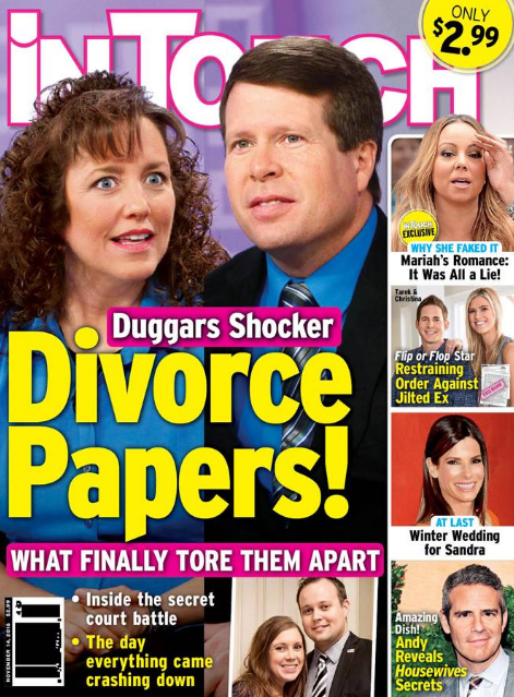 Michelle Duggar and Jim Bob Duggar Divorce: Duggars Struggling To Recuperate After Financial Disaster