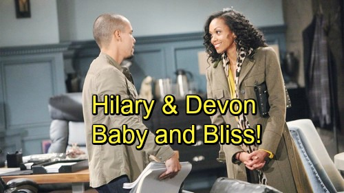 The Young and the Restless Spoilers: Hilary and Devon's Next Adventure – Reunion Brings Baby and Bliss