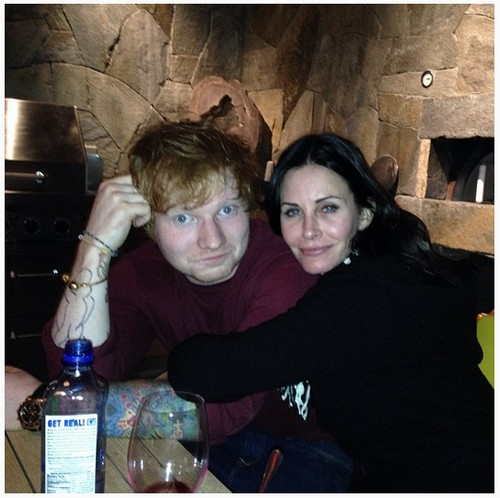 Ed Sheeran is Courteney Cox's 'Little Stud Muffin' - Living Together and Hooking Up?