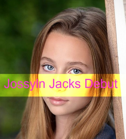 General Hospital Spoilers: Eden McCoy Cast as Carly's Daughter Josslyn Jacks - GH Debut Wednesday, October 14