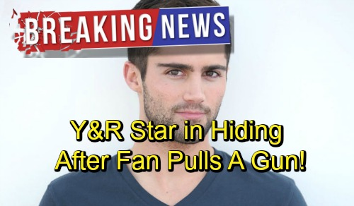 The Young and the Restless Spoilers: Y&R Alum Max Ehrich Terrified and In Hiding After Obsessed Fan Pulls a Gun