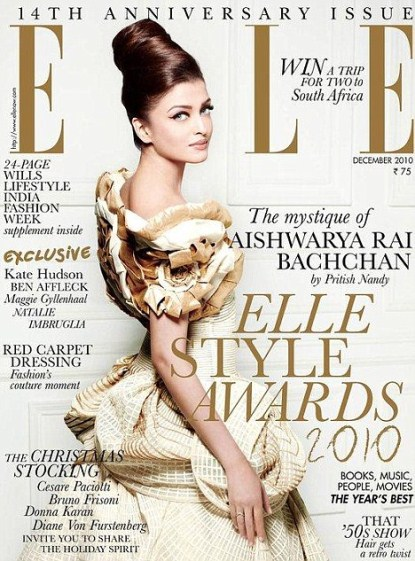 Elle Magazine Accussed Of Racism Again - Lightens Indian's Skin Tone