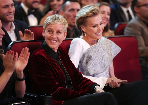 Ellen DeGeneres Spotted With Mystery Woman Amid Portia de Rossi Divorce Rumors