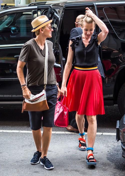 Ellen DeGeneres and Portia de Rossi Divorce Update: Ellen Quits Alcohol To Help Portia's Rehab