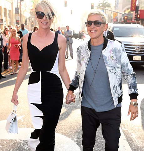 Ellen DeGeneres Divorce Reports Forgotten After Gushing Over 'Beautiful' Wife Portia de Rossi: Marriage Salvaged For Time Being?