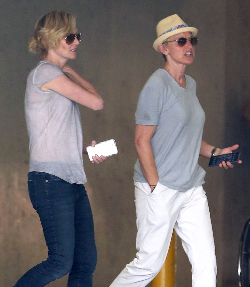 "Ellen DeGeneres, Portia de Rossi Embroiled In Plastic Surgery Battle: Divorce Looms - Portia Forbids Ellen To Fix ""Hanging Face"""