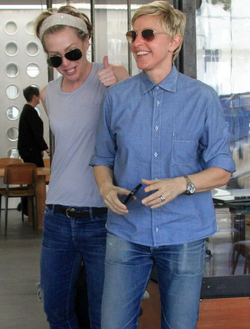 Ellen DeGeneres and Portia de Rossi Will Break Up After Rumors Slow Down - Staying Together For Now To Save Face?