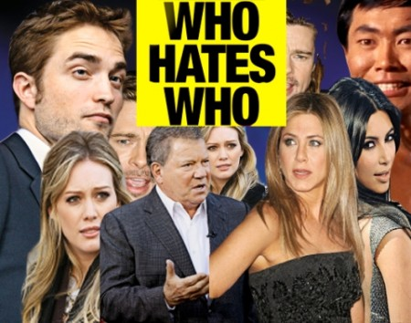 Who Hates Who In Hollywood? We Have The Scoop! 0627