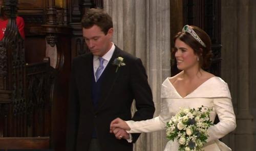 Princess Beatrice Neglects Maid Of Honor Duties At Princess