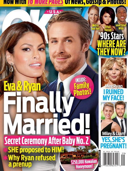 Eva Mendes And Ryan Gosling Married: Secret Sunset Wedding At Hollywood Hills Home?
