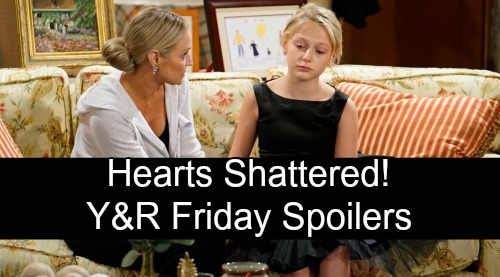 The Young and the Restless Spoilers: Friday, October 5 – Hearts Shattered in Wedding Aftermath – Faith's Devastated, Billy's Livid