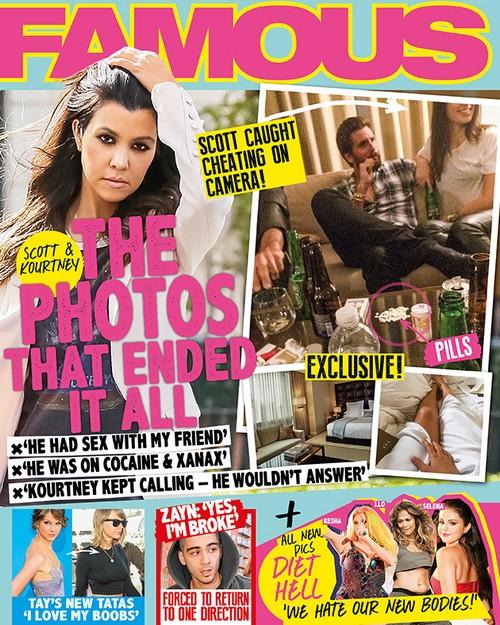 Scott Disick Allegedly Caught Cheating on Kourtney Kardashian: Photos Show Drug-Fueled Affair With Brunette?