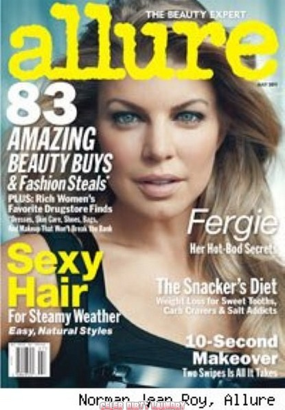 Fergie Graces the Cover of Allure Looking Smoking!