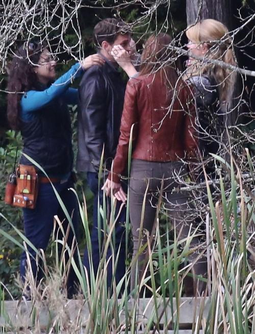 Dakota Dishrag Johnson Reshoots Fifty Shades Of Grey Scenes With Jamie Dornan