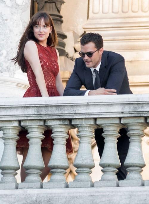 Jamie Dornan, Dakota Johnson and Crew Filming 'Fifty Shades Darker' at Palais Garnier in Paris: Update - New Photos on Set