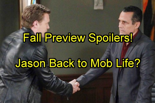 'General Hospital' Spoilers: Fall Preview - Jason's Mob Return - Nelle Sabotages Corinthos Marriage - Sonny's Revenge on Julian