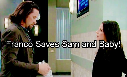 General Hospital Spoilers: Franco Saves Sam From Liv – Risks Life for JaSam Mom and Baby