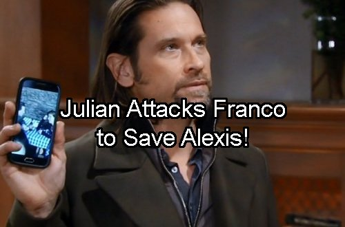 General Hospital Spoilers: Julian Sends Mob Minion to Silence Franco and Protect Alexis From Tom's Murder