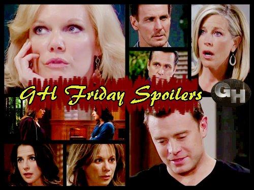 General Hospital Spoilers: Jax Deported, Sonny Gloats - Ava Threatens Julian - Liz Calls Jason Over Jake's Scarecrow