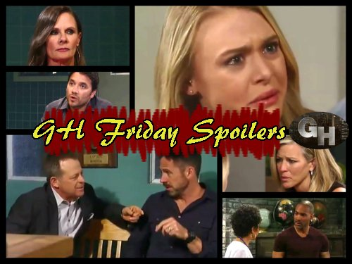 General Hospital Spoilers: Friday, June 9 - Griffin Brings Ava Back From Death - Dante Grills Lucy - Aunt Stella Attacks Jordan