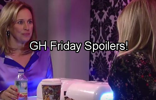 'General Hospital' Spoilers: Jason's Exit Plan – Claudette Flees – Carly Bans Sonny from Funeral – Maxie Pleads for Her Life