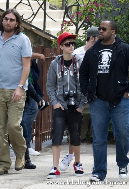 Justin Bieber At The archaeological excavations in Israel