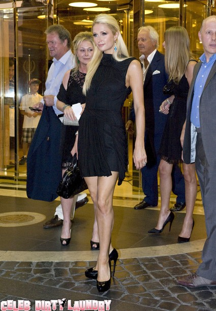 Paris Hilton Looks Stunning At Petra Ecclestone Wedding Rehearsal Dinner - Photos