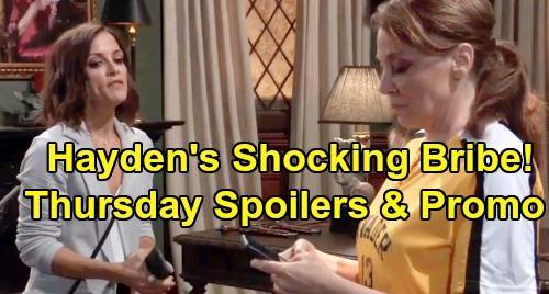 General Hospital Spoilers: Thursday, August 15 – Kim Demands Franco Kiss Answers – Brad Begs Julian – Liesl and Hayden's Deal