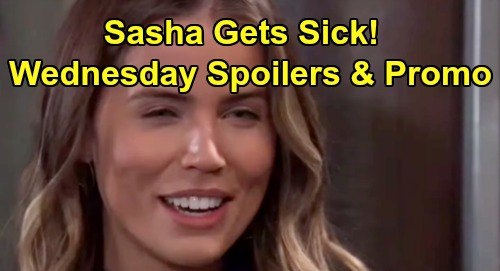 General Hospital Spoilers: Wednesday, August 7 – Shiloh Delivers Cameron To Dr. Cabot - Sasha Begins To Get Sick