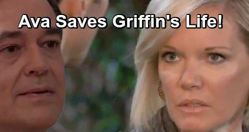 General Hospital Spoilers: Ava Stops Jealous Ryan from Murdering Griffin, Becomes The Target Herself