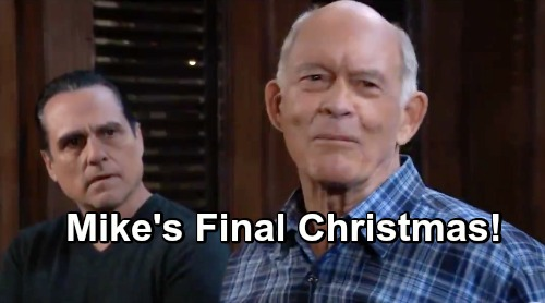 General Hospital Spoilers: Mike's Last Christmas - Tragic End To a Great Character?