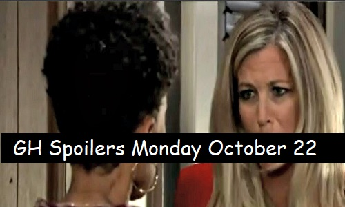 General Hospital Spoilers: Monday, October 22 – Kristina Gets Devastating News – Carly's Fired Up – Laura and Ryan's Showdown