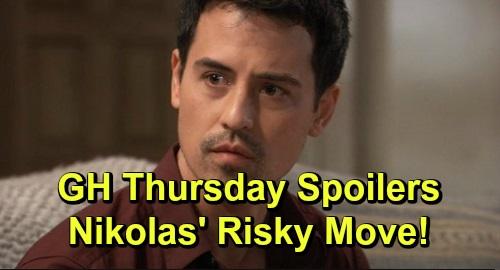 General Hospital Spoilers: Thursday, November 7 – Nelle's Sneaky Strategy – Terror Strikes for Cassandra – Nikolas' Risky New Plan
